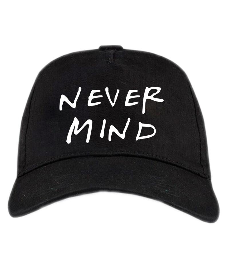 Кепка Never Mind. Бейсболка Never Mind